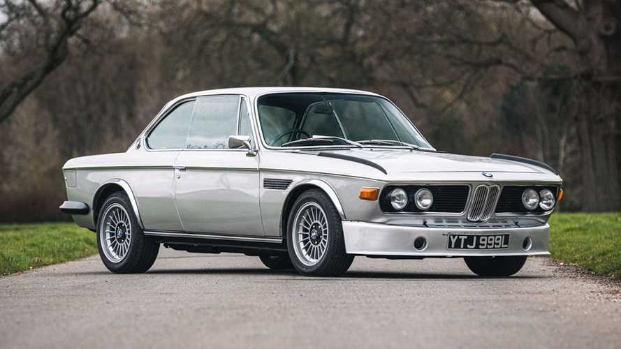 Este BMW 3.0 CSL, propiedad del cantante de Jamiroquai, busca dueño