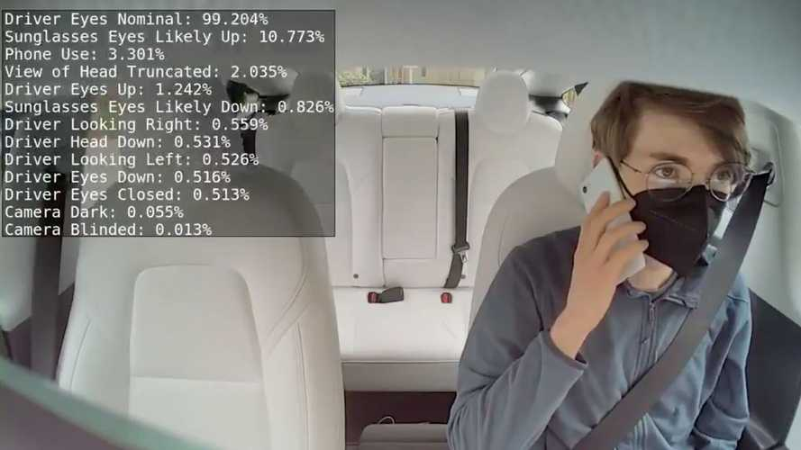 Check Out How Tesla's In-Cabin Camera Analyses Your Face