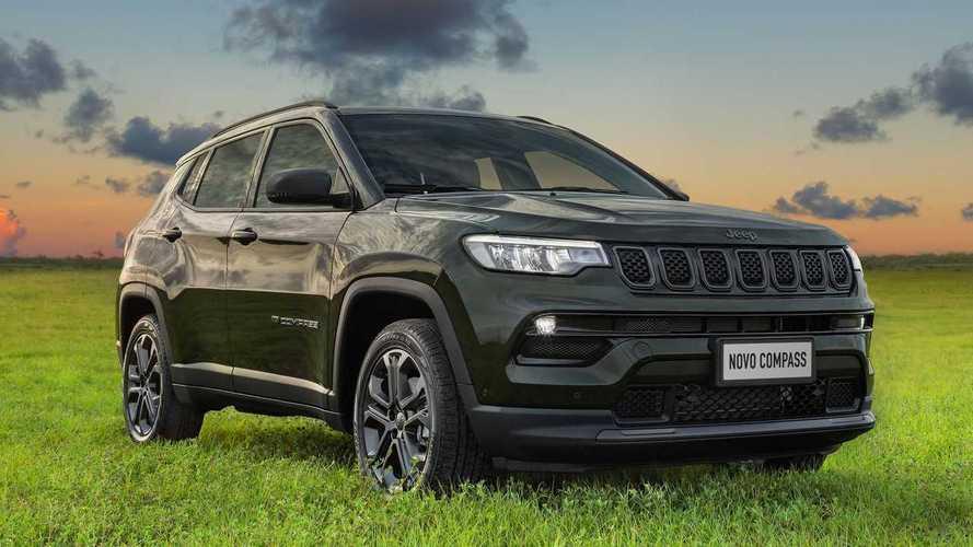 Novo Jeep Compass 80 Anos 2022