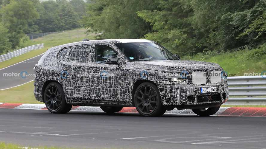 BMW X8 With Stacked Tailpipes Spied Testing At The Nurburgring