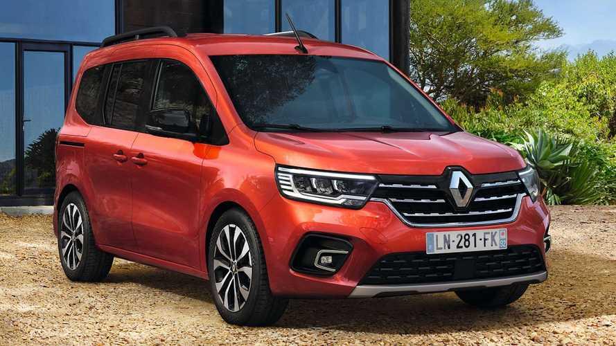 Nuova Renault Kangoo, vuole essere più grande e più pratica