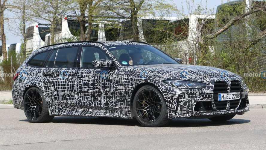 BMW M3 Touring, la station wagon da 510 CV è su strada