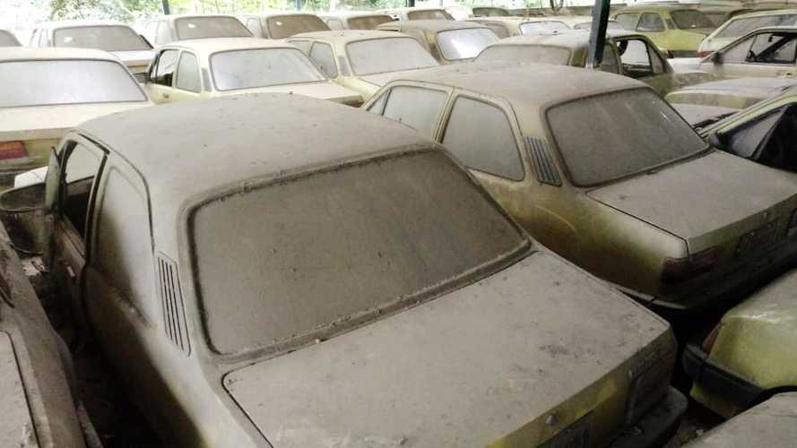 Barn Find: Over 60 Chevrolet Chevettes Found In Brazilian Shed