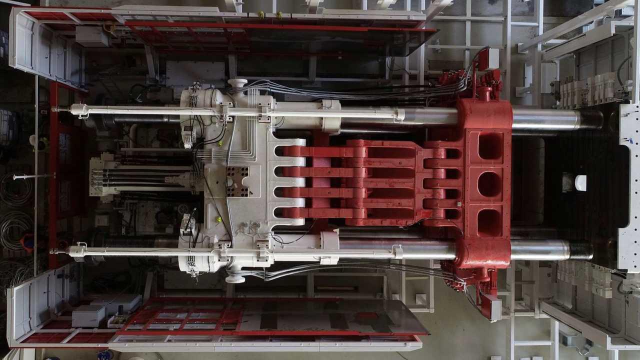 Tesla Giga Berlin (Gigafactory 4) - Giga Casting (Tesla Q1 2021 report)