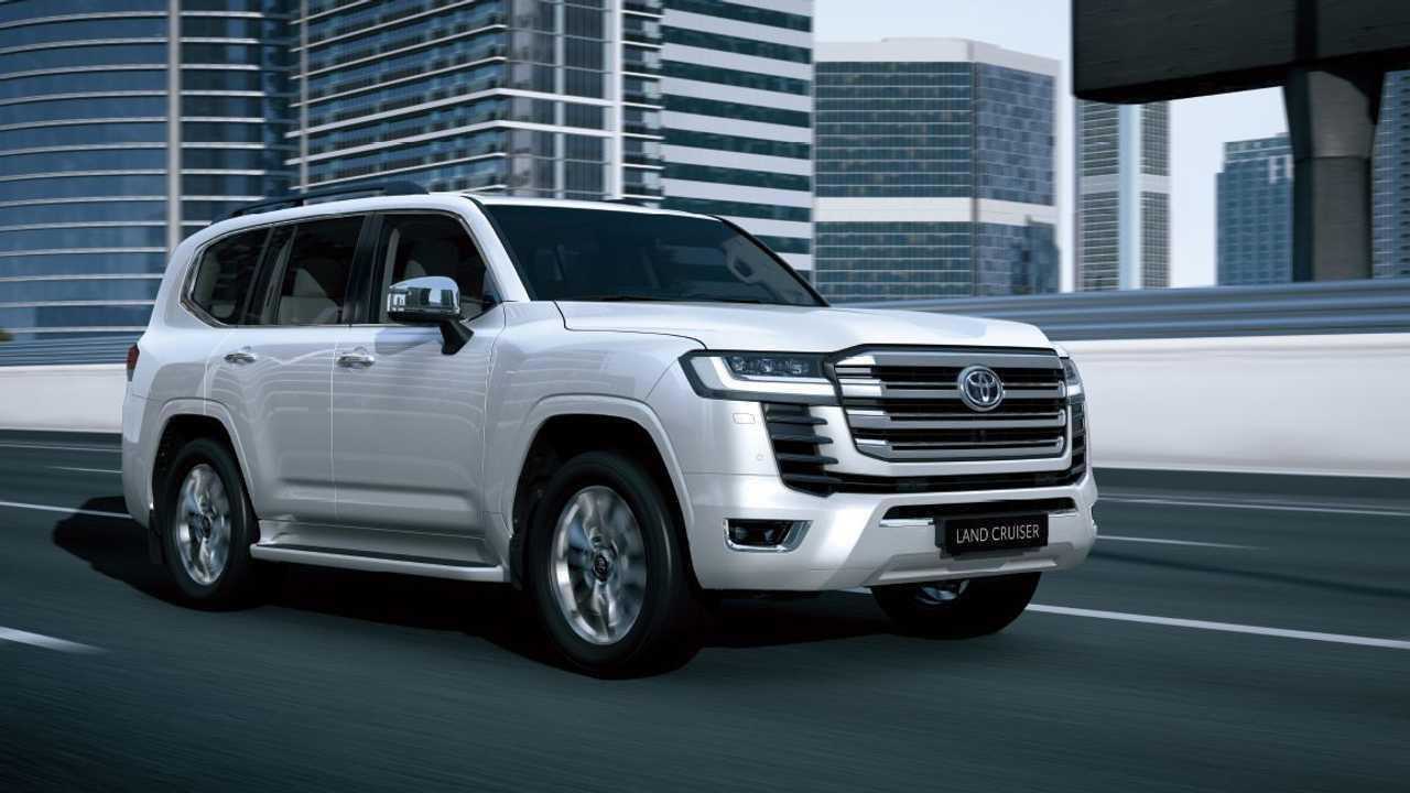 Toyota Land Cruiser Profil