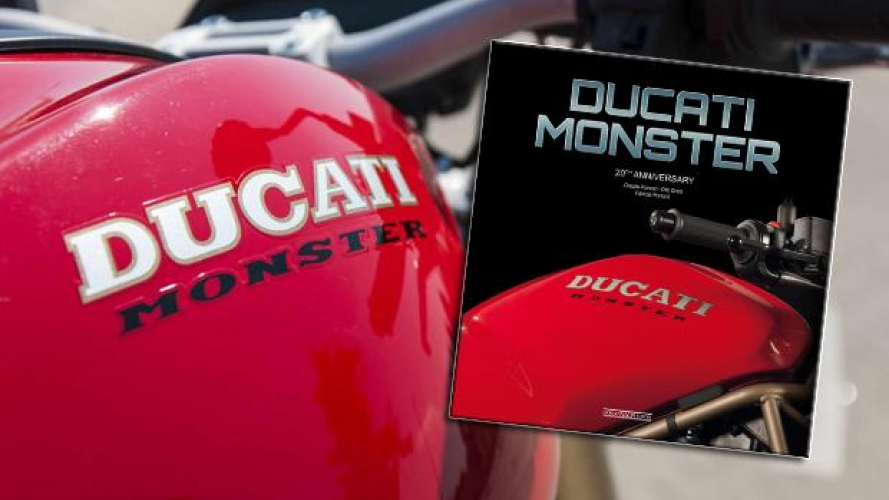 Ducati Monster 20th Anniversary: il Libro