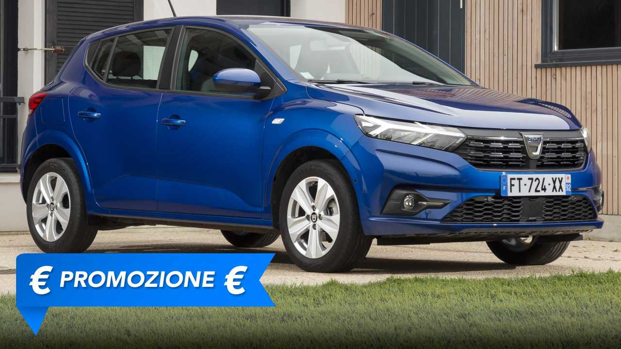 Promozione Dacia Sandero giugno 2021