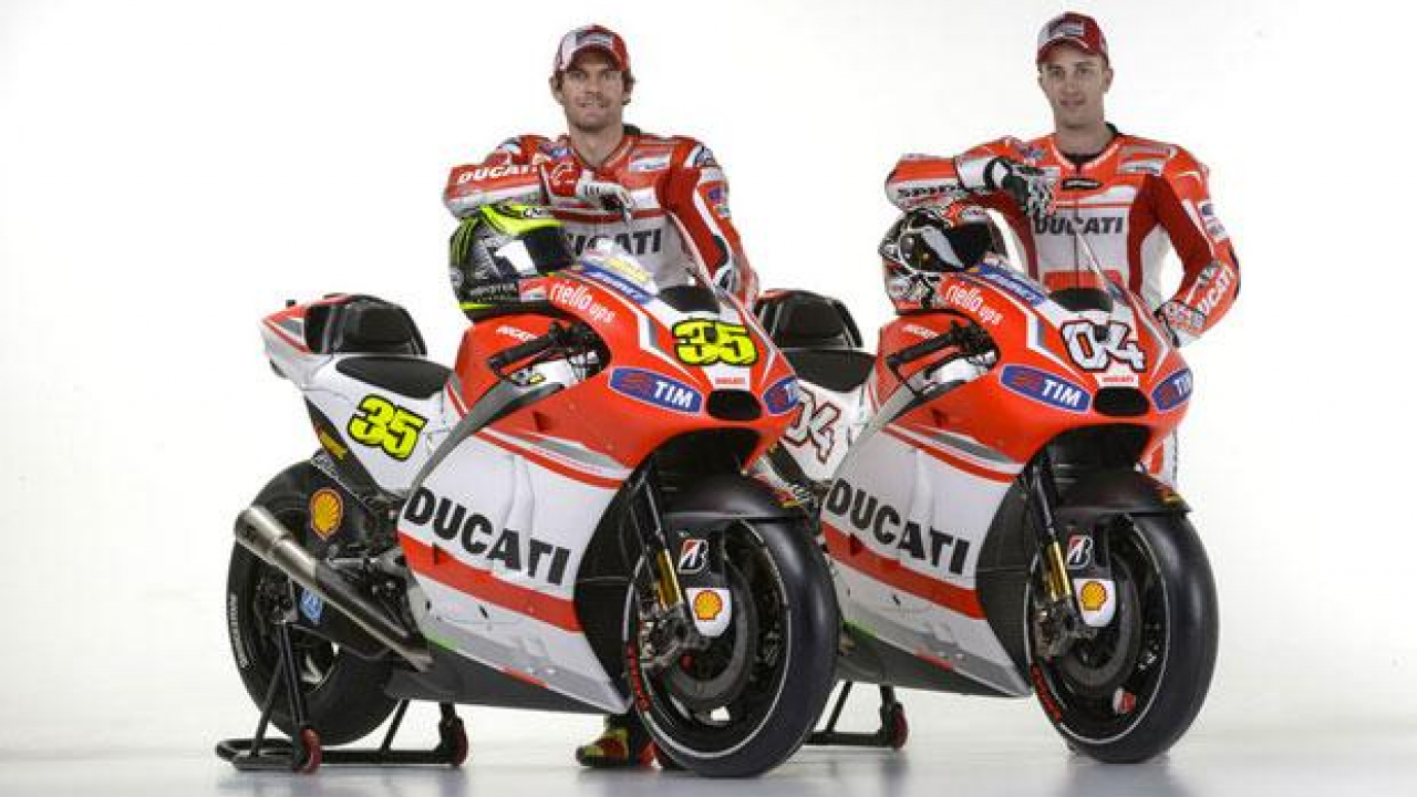 MotoGP 2014: la nuova Ducati GP14 si scopre in Germania