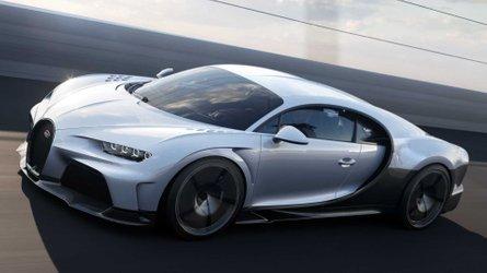 bugatti chiron siêu thể thao tiết lộ