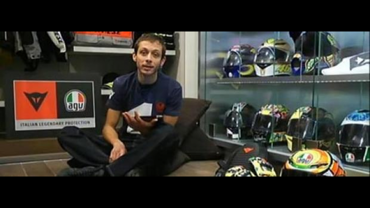 MotoGP 2011: Rossi in Livestreaming per Dainese