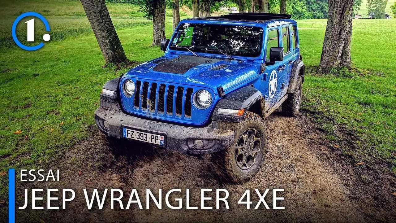 Essai Jeep Wrangler 4XE