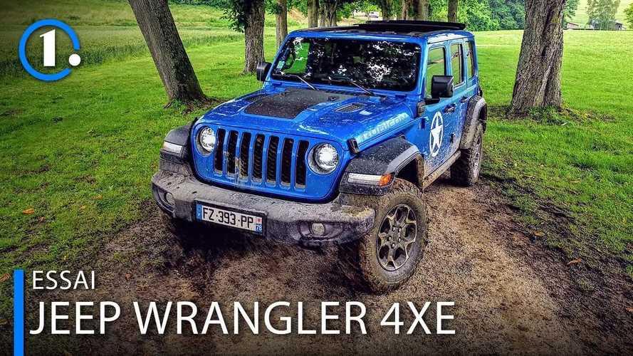 Essai Jeep Wrangler 4xe - L'électrique lui va si bien