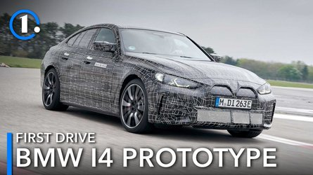 BMW i4 prototype first drive review: Model 3's main competition