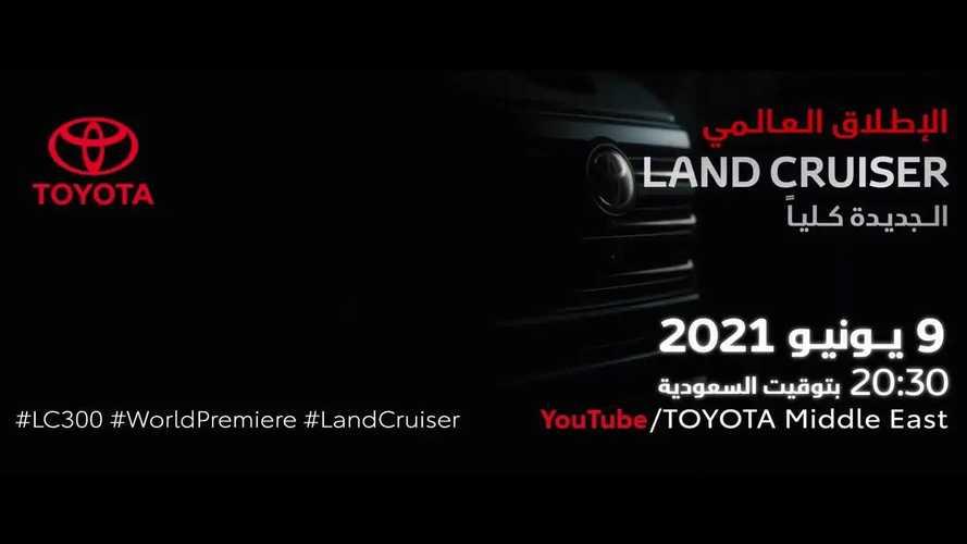 2021 Toyota Land Cruiser'dan ilk teaser geldi!