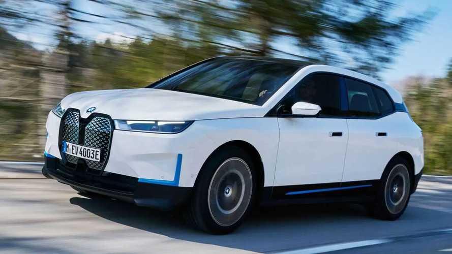 BMW iX xDrive40 (2021)