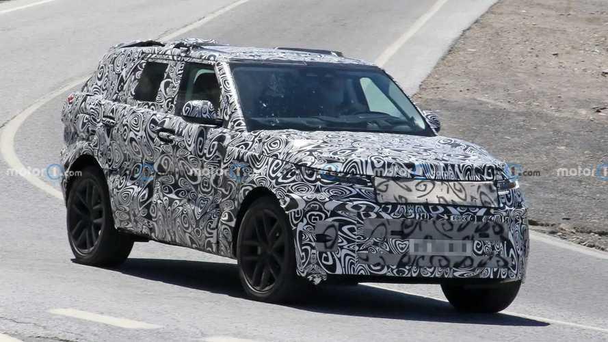 Land Rover Range Rover Sport Spy Photos