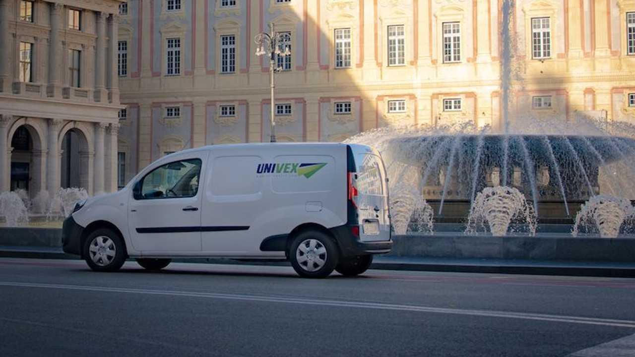 Univex trasporto temperatura controllata