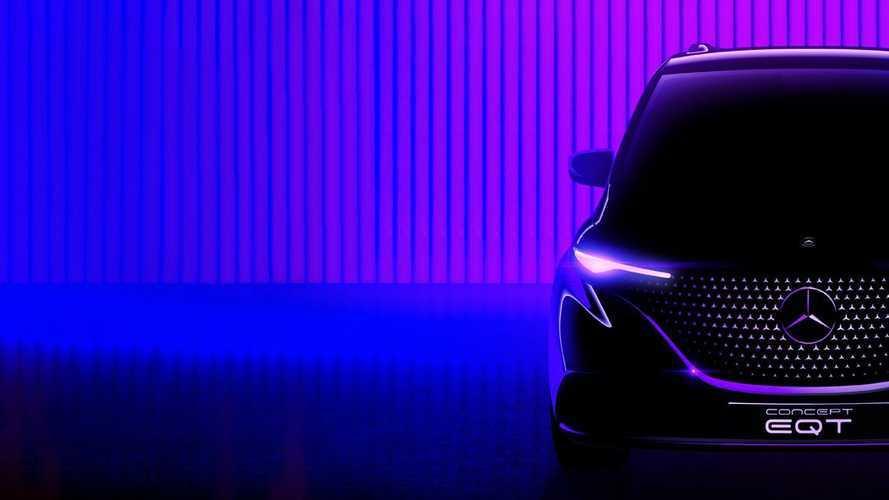 Nasce Mercedes EQT, il primo teaser del multispazio elettrico