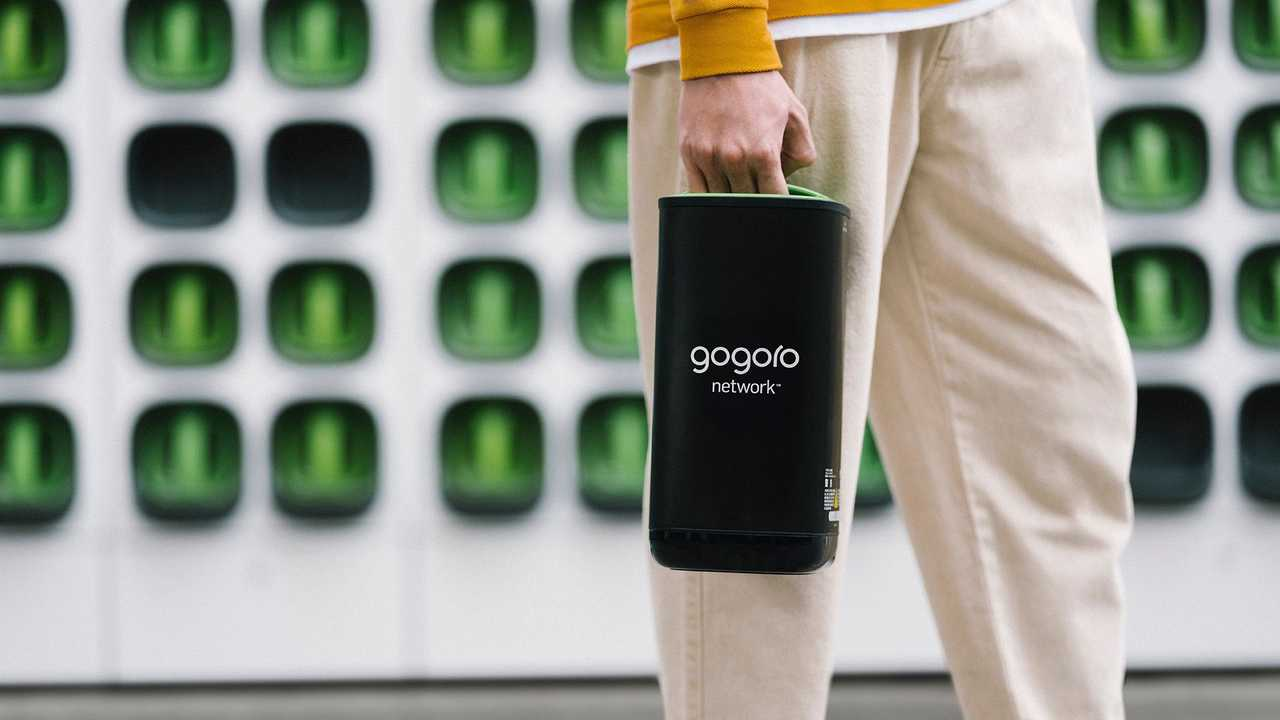 Gogoro Swappable Battery