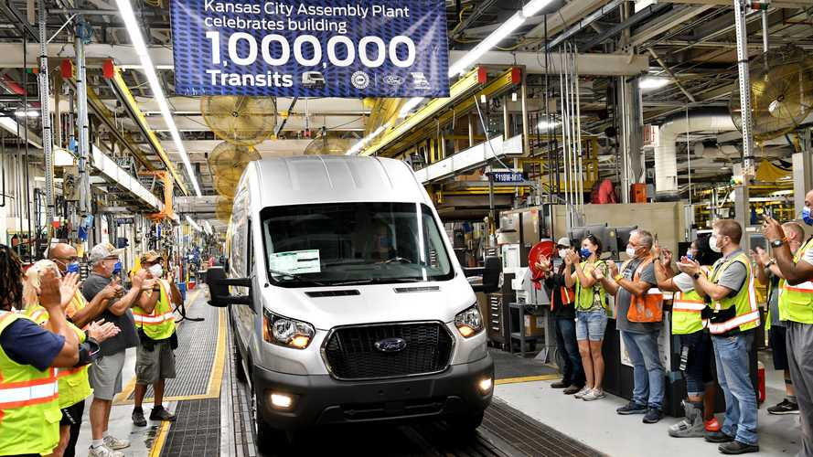 Ford Celebrates One Millionth Transit Produced In North America