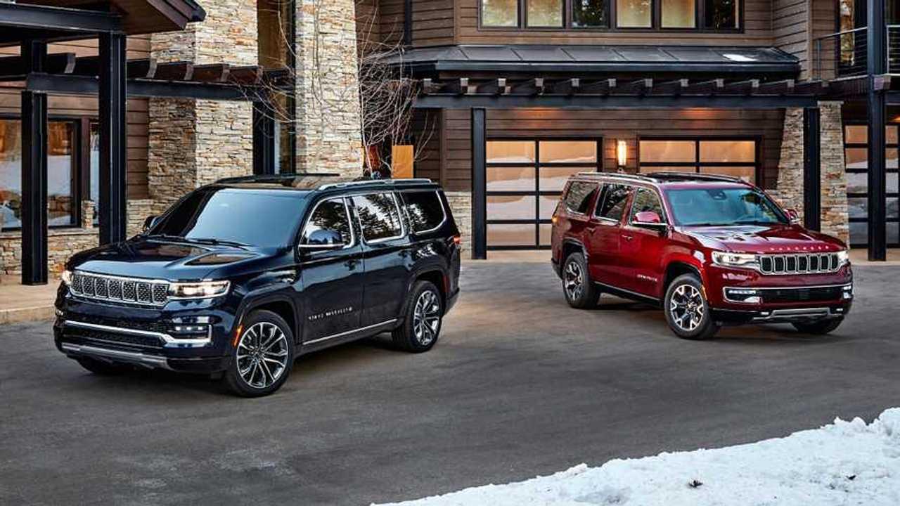 Nuove Jeep Wagoneer e Grand Wagoneer