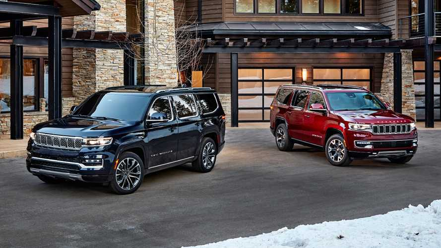 Nuove Jeep Wagoneer e Grand Wagoneer, i colossi dei SUV all'americana