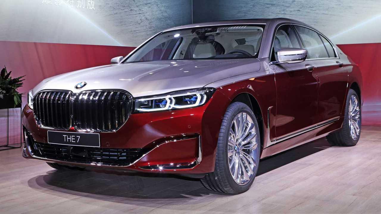 BMW zeigt in Shanghai ein neues Luxus-Sondermodell des 7er für China