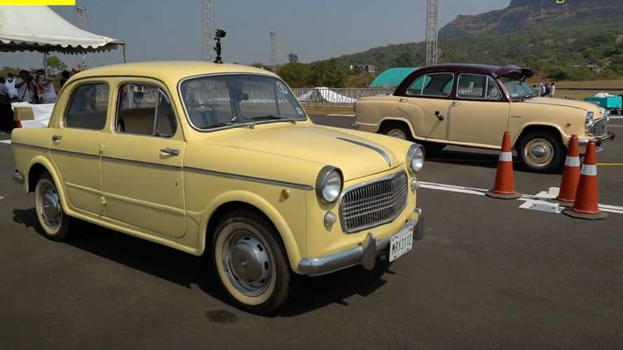 Hindustan Ambassador Fights Fiat 1100 In The Slowest Drag Race Ever