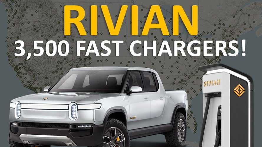 How Will Rivian's Charging Network Compare To Tesla's Superchargers