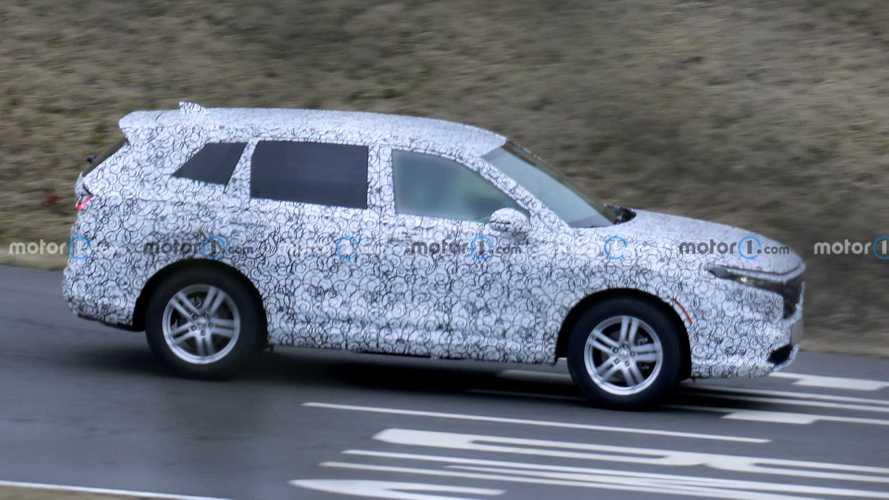 Honda CR-V (2022) auf ersten Erlkönigbildern