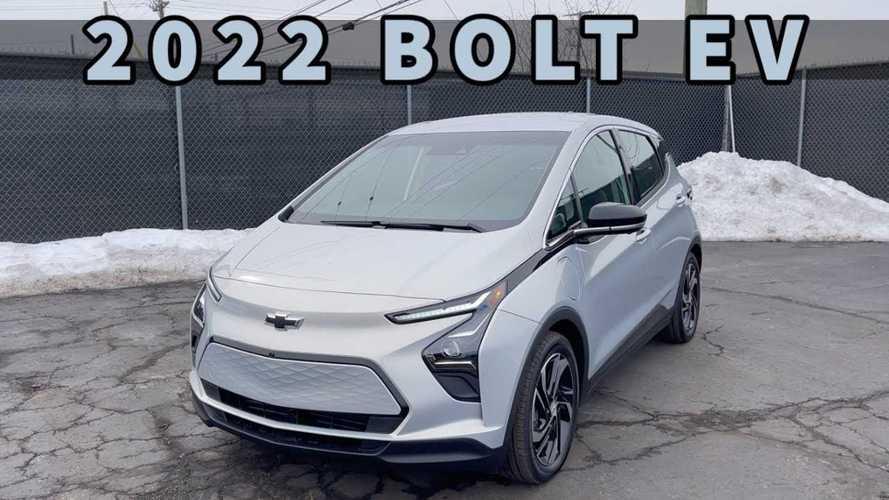 Out of Spec Checks Out Chevrolet Bolt EV Facelift Changes
