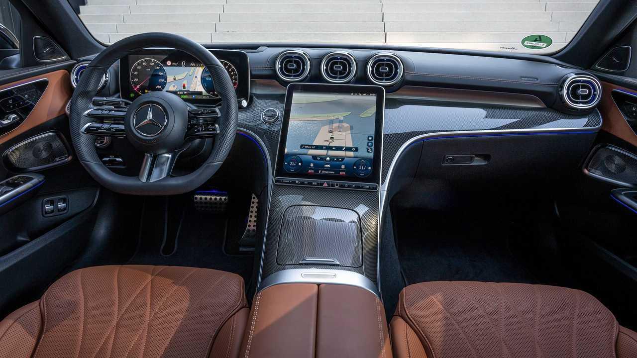 Mercedes C-Klasse C300e Limousine (2021) im Test