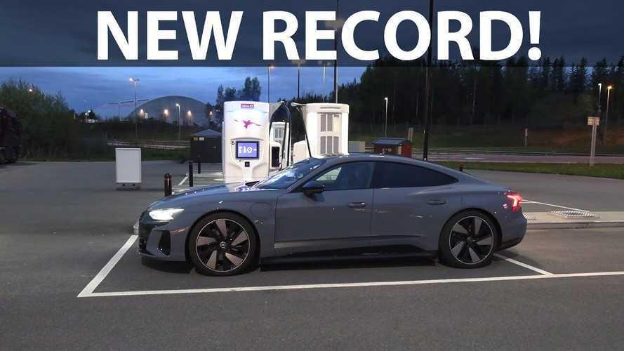 Audi e-tron GT Sets New Record In Bjørn's 1,000 Km Challenge