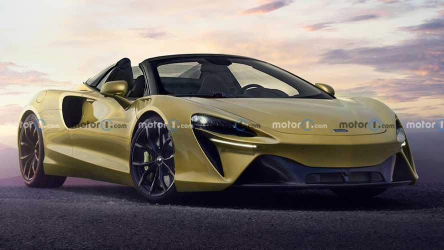McLaren Artura turns into a spider in new unofficial rendering