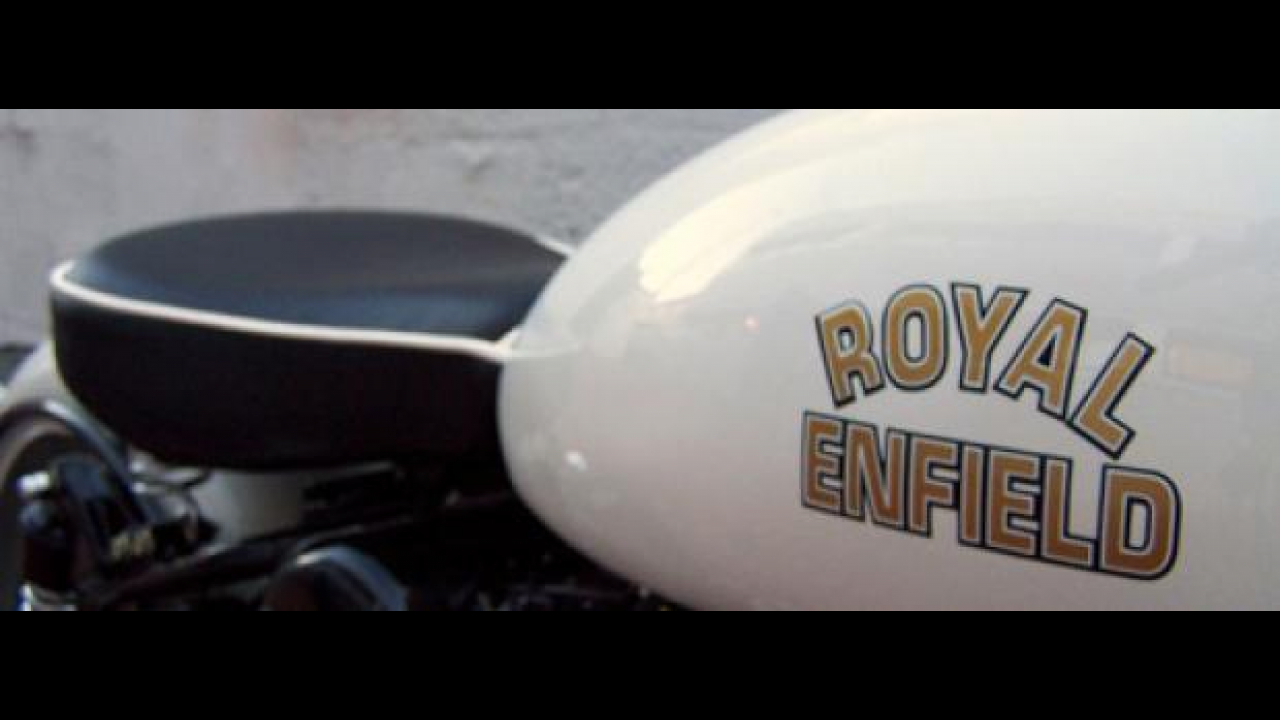 Royal Enfield al Motor Bike Expo 2011