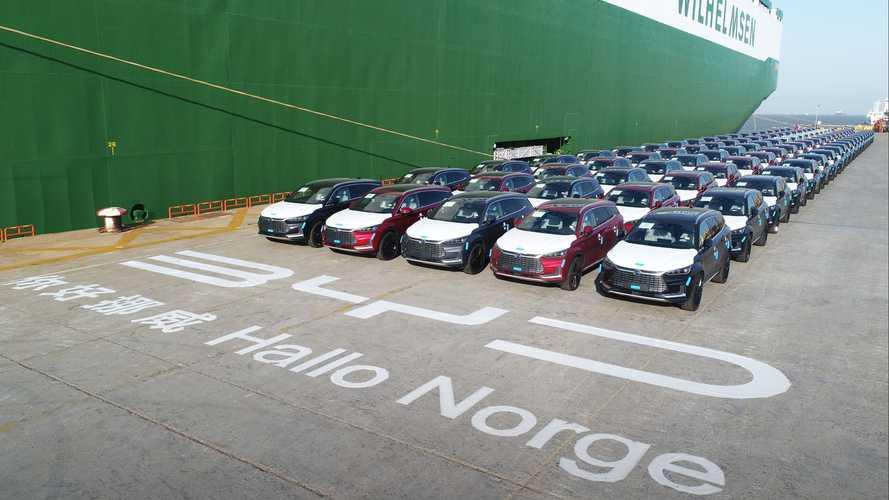 First Batch Of 100 BYD Tang Heads For Norway