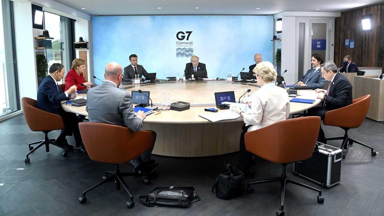 reunião de países do G7