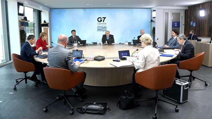 Reunião do G7 decepciona com apoio 'vago' para o carro elétrico