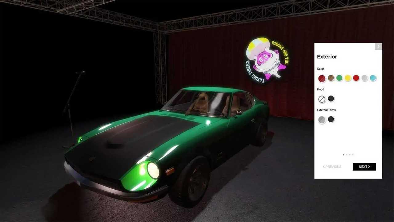 Configuratore Garage Italia Datsun 240Z
