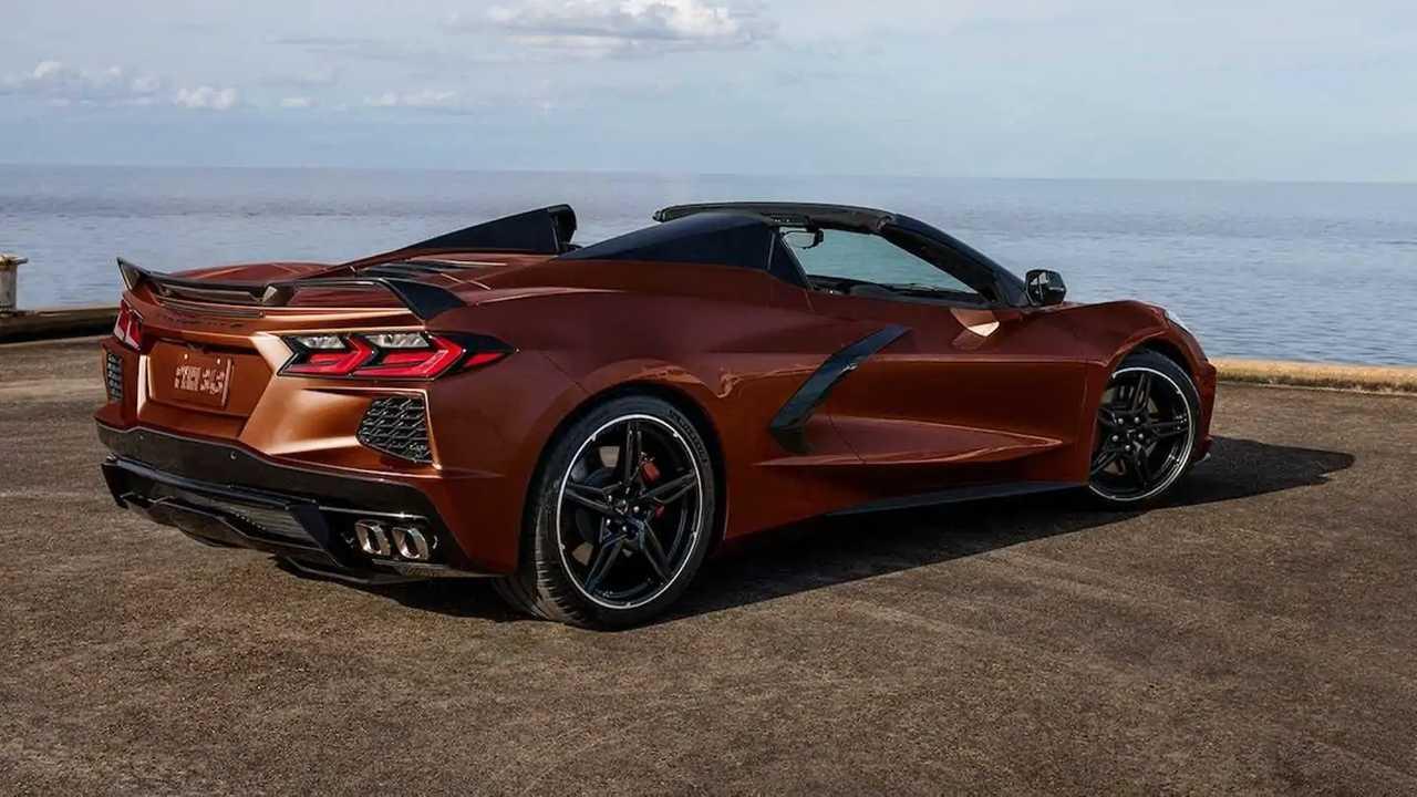 2022 Chevrolet Corvette New Colors - Caffeine