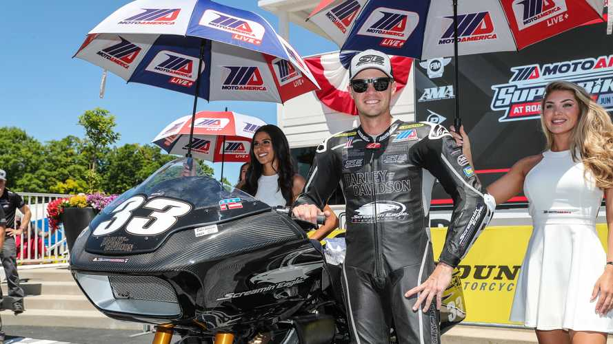 Screamin' Eagle Harley-Davidson wins King of the Baggers Road America 2021