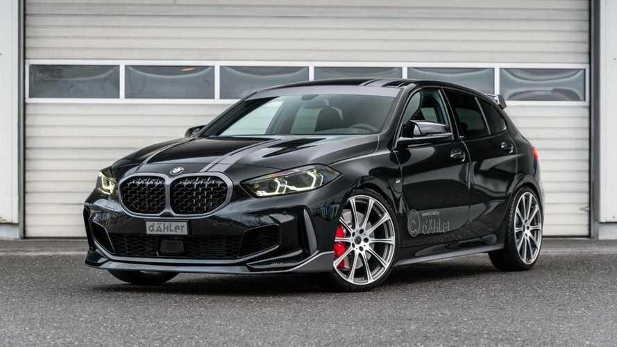 Dähler lleva el nuevo BMW 128ti por encima de los 300 CV