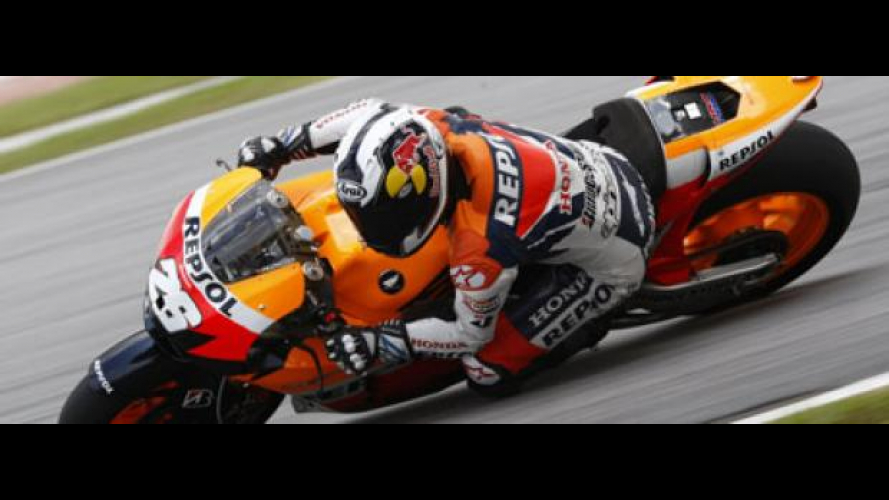 MotoGP 2010, Sepang, Test: team Honda