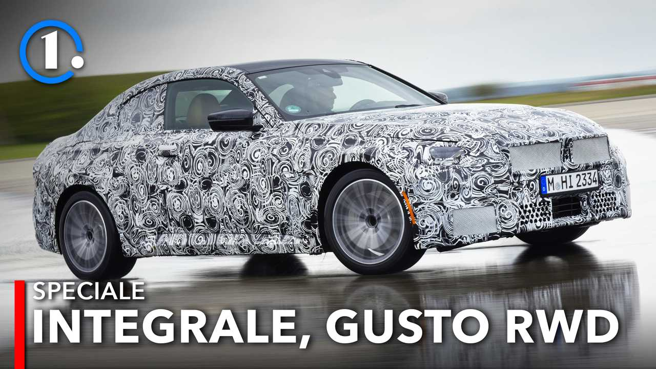 Nuova BMW Serie 2 Coupé 2021, la prova