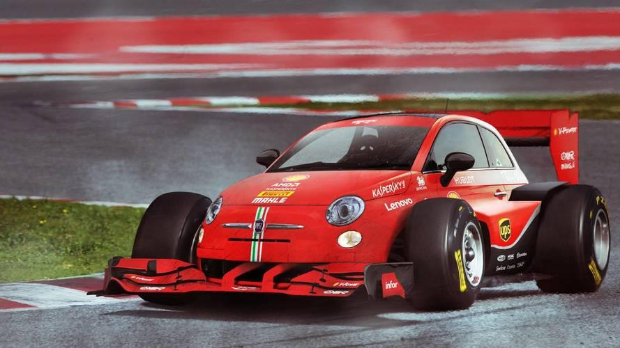 Şehir otomobilleri F1'de yarışsa nasıl görünürdü?