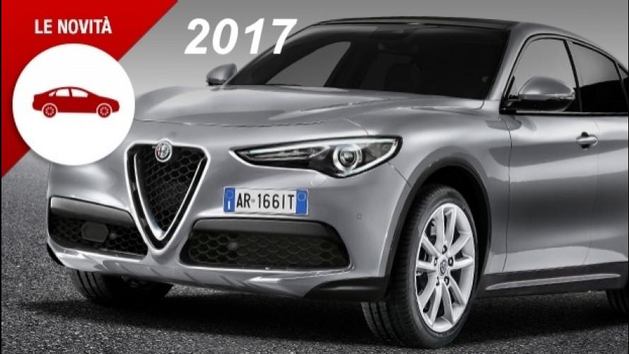 [Copertina] - Novità auto del 2017, sarà un anno molto ricco