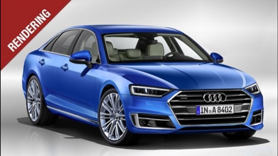 Nuova Audi A8, futuro prossimo