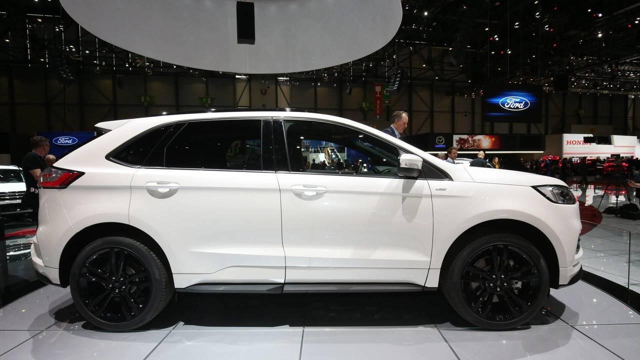 Ford Edge Facelift Euro Spec