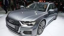 Audi A6 at the 2018 Geneva Motor Show