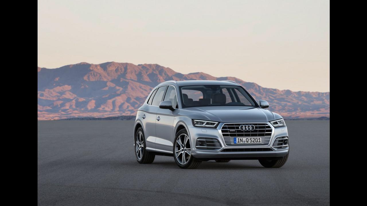 Nuova Audi Q5 e le rivali 003